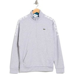 1/4 Zip Knit Pullover - Blue - Lacoste Knitwear found on MODAPINS from lyst.com for USD $75.00