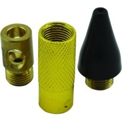 Milton 3 Pc Accessory Tip Kit -Blo Guns, fits 6mm Nozzles, Vented Nozzle, Product Type Blow Gun Accessory, Pieces (qty.) 3, Model s-168 found on Bargain Bro from northerntool.com for USD $11.47