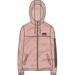 Vans Women's Apparel & Clothing Kastle II Funday Hoodie - Women's Rose Cloud Extra Small found on Bargain Bro from campsaver.com for USD $24.31