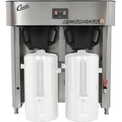 Curtis OMGT10 G4 Omega 6 Gallon Twin Coffee Brewing System - 240V