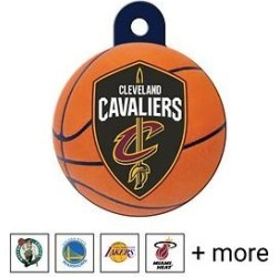 Quick-Tag NBA Circle Personalized Dog & Cat ID Tag, Large, Cleveland Cavaliers