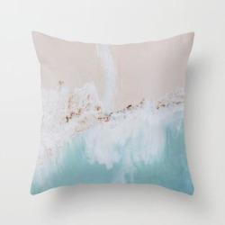 Couch Throw Pillow | Seashore Iv / Bali, Indonesia by Mauikauai - Cover (16