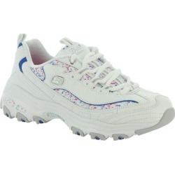 Skechers Sport D'Lites-Dazzling Canvas - Womens 7 White Sneaker Medium found on Bargain Bro India from ShoeMall.com for $62.99