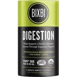 BIXBI Organic Pet Superfood Digestion Daily Dog & Cat Supplement, 2.12-oz jar found on Bargain Bro Philippines from Chewy.com for $27.95