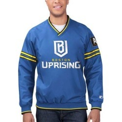 Starter Corporation Men's Non-Denim Casual Jackets BLUE - Boston Uprising Overwatch League Game Day Trainer Pullover Jacket - Men found on Bargain Bro Philippines from zulily.com for $56.99