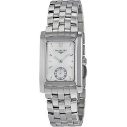 Dolcevita White Dial Stainless Steel Ladies Watch L55024166 - Metallic - Longines Watches found on Bargain Bro India from lyst.com for $800.00