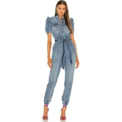 Lia Jumpsuit - Blue - retroféte Jumpsuits found on Bargain Bro Philippines from lyst.com for $590.00