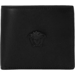 'medusa' Wallet - Black - Versace Wallets found on Bargain Bro from lyst.com for USD $239.40