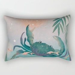 Rectangular Pillow   Cancer by Pattern_creator - Small (17
