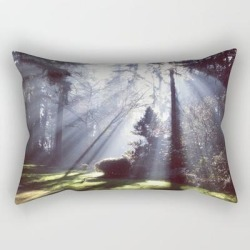Rectangular Pillow | Sun Beams by Created By Kat Co - Small (17