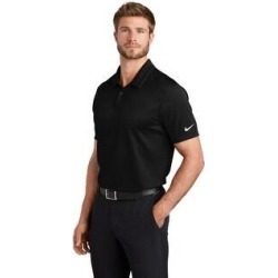Nike Men's Dry Essential Solid Polo (2XL - Black)(polyester) found on Bargain Bro India from Overstock for $51.49