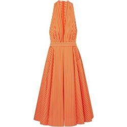 3/4 Length Dress - Orange - Sara Battaglia Dresses found on Bargain Bro Philippines from lyst.com for $340.00