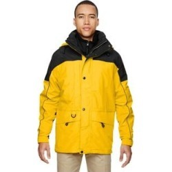 3-In-1 Men's Two-Tone Sun Ray 720 Parka (L), Black(polyester) found on MODAPINS from Overstock for USD $83.24