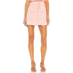 Vinita Drawstring Ruffle Panel Skirt - Pink - Alice + Olivia Skirts found on Bargain Bro Philippines from lyst.com for $275.00