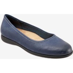 Women's Darcey Flat by Trotters in Navy (Size 11 M) found on Bargain Bro Philippines from Roamans.com for $99.99