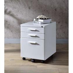 Inbox Zero ACME Peden File Cabinet Metal/Steel in White, Size 22.0 H x 15.5 W x 19.0 D in | Wayfair FC28419F753E473AA5614E79AE672DF3 found on Bargain Bro Philippines from Wayfair for $269.99
