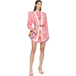 Pink Polka Dot Belt - Pink - Moschino Belts found on Bargain Bro from lyst.com for USD $235.60