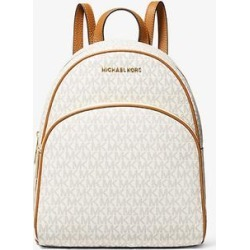 Michael Kors Abbey Medium Logo Backpack Natural One Size found on Bargain Bro Philippines from Michael Kors for $180.60