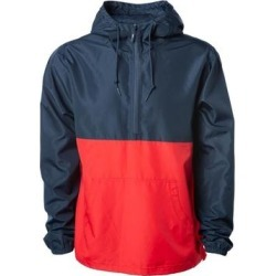 Independent Trading Co. - Lightweight Windbreaker Pullover Jacket found on Bargain Bro Philippines from Overstock for $46.50