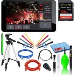 YoloLiv YoloBox Portable Live Streaming Studio with SanDisk 128GB PRO found on Bargain Bro Philippines from Overstock for $1055.99