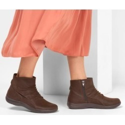 Skechers Women's Lite Step - Tricky Boots, Chocolate, 7.0 found on Bargain Bro from SKECHERS.com for USD $34.19