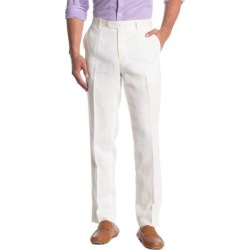 Tailored Linen Pants - White - Tommy Hilfiger Pants found on Bargain Bro from lyst.com for USD $41.80