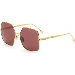 Square Metal Frame Sunglasses - Metallic - Fendi Sunglasses found on Bargain Bro Philippines from lyst.com for $410.00