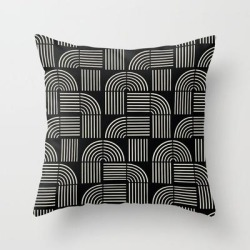 Couch Throw Pillow | Balance Lines by Grace - Cover (16