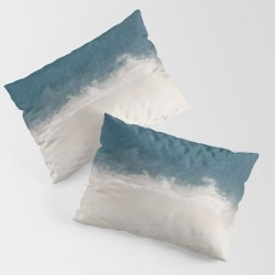 Sea King Size Pillow Sham by Thingdesign - STANDARD SET OF 2 - Cotton