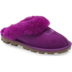 UGG Genuine Shearling Slipper - Purple - Ugg Flats found on Bargain Bro from lyst.com for USD $91.20