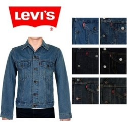 Levi's Men's Denim Cotton Button Front Trucker Jacket (Blue 0000 - M) found on MODAPINS from Overstock for USD $67.72