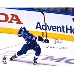 Brayden Point Tampa Bay Lightning Fanatics Authentic Autographed 16