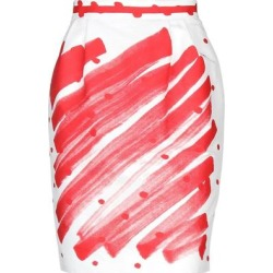 Knee Length Skirt - White - Moschino Skirts found on Bargain Bro Philippines from lyst.com for $423.00