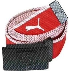 Puma Unisex Adults Ferrari Woven Belt - Red/White - One Size (Red/White), Women's(polyester, printed) found on Bargain Bro from Overstock for USD $34.44
