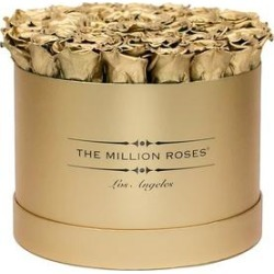 Gold Roses | Gold Box - The Million Roses® found on Bargain Bro from The Million Roses for USD $303.24