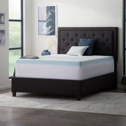 Lucid Comfort Collection Fitted Mattress and Topper Cover - White (King) found on Bargain Bro from Overstock for USD $29.25