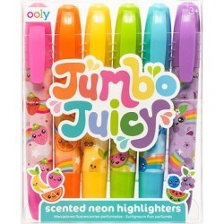 ooly Writing Utensils - Jumbo Juicy Scented Neon Highlighters - Set of Six found on Bargain Bro Philippines from zulily.com for $7.99