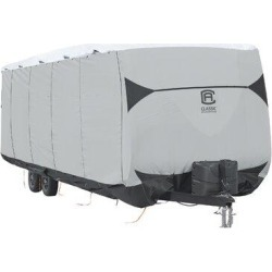 Classic Accessories SkyShield RV CoverPolyester/Polyester blend in Gray, Size 104.0 H x 102.0 W x 270.0 D in | Wayfair 80-384-101501-EX found on Bargain Bro Philippines from Wayfair for $336.38