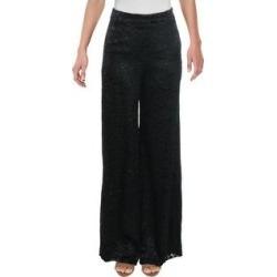 Alexis Womens Galini Wide Leg Pants Silk Blend Animal Print - White Geometric - S (Black Geometric - M), Women's found on MODAPINS from Overstock for USD $50.94