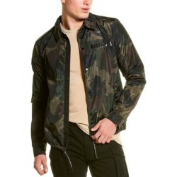 Superdry Surplus Goods Coach Jacket (2XL), Men's, Green(polyester, graphic) found on Bargain Bro India from Overstock for $60.49