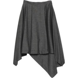 3/4 Length Skirt - Gray - Blue Les Copains Skirts found on Bargain Bro Philippines from lyst.com for $145.00