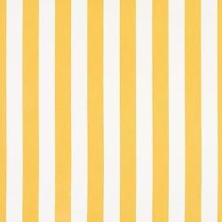 Canopy Stripe Lemon/White Sunbrella Fabric by the Yard - Ballard Designs found on Bargain Bro from Ballard Designs for USD $21.89