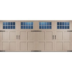 Classica 1000 Tuscany Garage Door - Sandtone 16 x 7 Madeira Window found on Bargain Bro from samsclub.com for USD $1,785.24