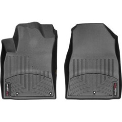 WeatherTech Floor Mat Set, Fits 2018 Hyundai Elantra GT, Primary Color Black, Material Type Molded Plastic, Model 4412011 found on Bargain Bro from northerntool.com for USD $97.24