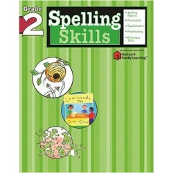 Flash Kids by Sterling Publishing Educational Workbooks - Grade 2 Spelling Skills Workbook found on Bargain Bro from zulily.com for USD $4.40