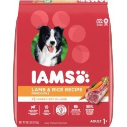 Iams ProActive Health High Protein with Lamb and Rice Adult Dry Dog Food, 38.5 lbs.