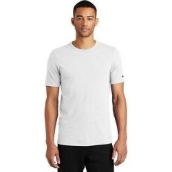 Nike Men's DRI-FIT Poly/Cotton Tee (L - White) found on Bargain Bro India from Overstock for $28.97