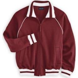 Men's John Blair DURAfleece Sweatshirt Jacket, Merlot Red 3XL Regular found on Bargain Bro Philippines from Blair.com for $15.97