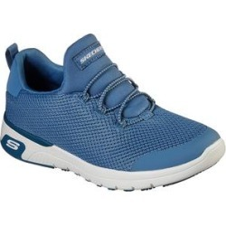 Skechers Women's Sneakers BLU - Blue Work Relaxed-Fit Marsing Waiola SR Sneaker - Women found on Bargain Bro Philippines from zulily.com for $63.99