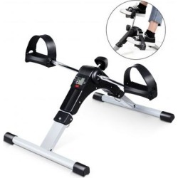 Costway Folding Under Desk Indoor Pedal Exercise Bike for Arms Legs found on Bargain Bro India from Costway for $37.95